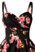 Trash Monkey ** Stop Staring - Ariana Fitted Dress in Dusty Pink Floral