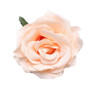 Trash Monkey ** Peach Rose Flower Hair Clip