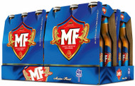 MF Masters Finest is an American style beer brewed in The Netherlands. It's full flavoured with a smooth finish.Country.   Case 330ml x 24 bottles    Alc. Content 4.5%     Std Drinks  1.50
