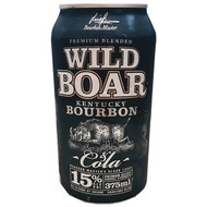 Wild Boar Bourbon 15% available single can, 3 pack bourbon deal or 24 case bourbon deal