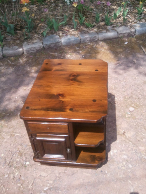 Bennington Pine End Table Forgotten Furniture