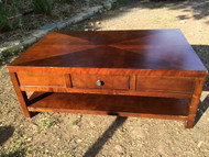 Cherry Diamond Top Coffee Table