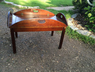 Bombay Company Mahogany Coffee Table / Serving Tray