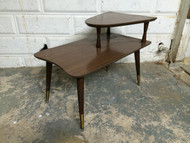 Vintage Modern Tapered End Table