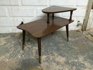 Vintage Modern Tapered End Table