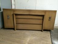 Vintage Blonde 9 Drawer Long Dresser