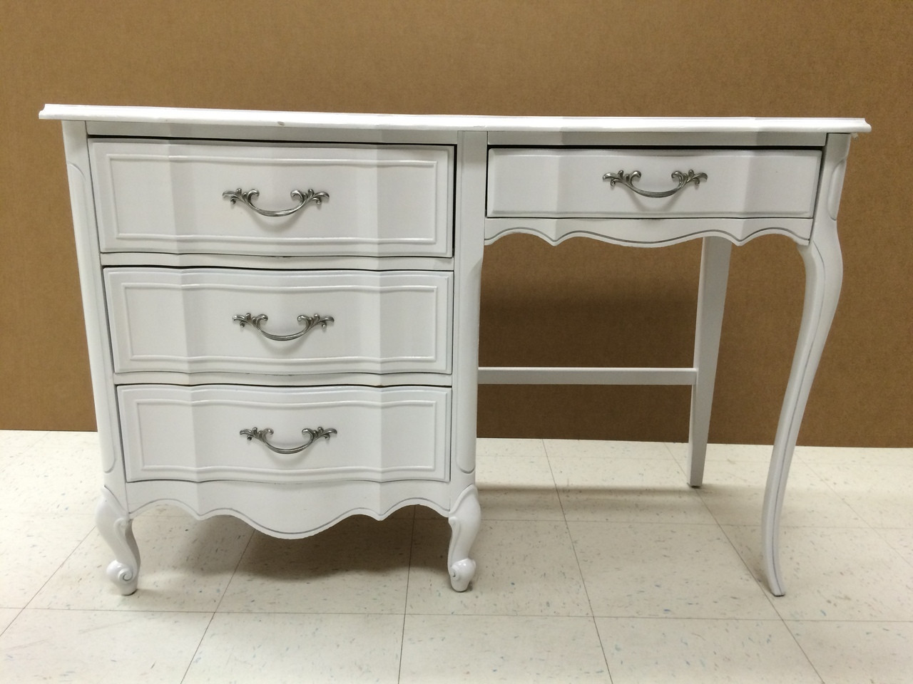 French Provincial Shabby Chic Desk Forgotten Furniture
