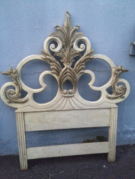 Ornate Carved Twin Headboard