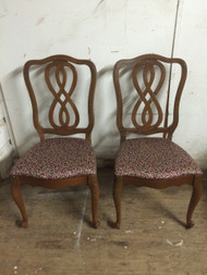 Pair of Infinity Back Dining Chairs