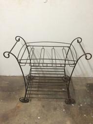Vintage Iron Serving / Bar Cart