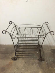 Vintage Iron Serving / Bar Cart