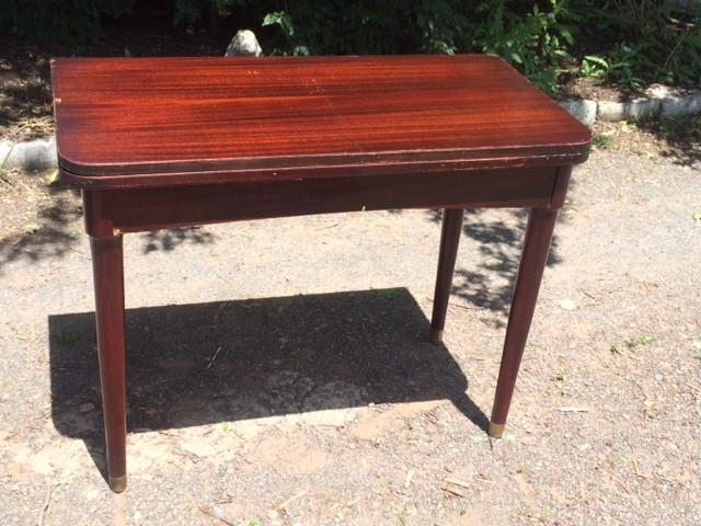 Vintage Modern Mahogany Desk / Extending Table