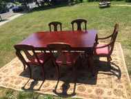 American Drew Cherry Dining Table w/ 5 Chairs