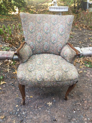 French Upholstered Arm Chair