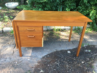 Danish Modern Teak Expandable Desk