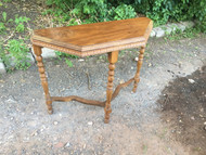 Antique Walnut Hall Table