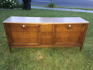 Mid Century Modern Walnut Dresser by Basic Witz
