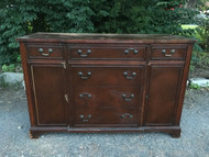 Antique Mahogany Buffet - Price includes chalk painted as desired