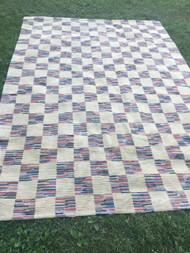 "Checkered Area Rug 8' x 11'2"""