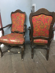 Pair of French Provincial Arm Chairs