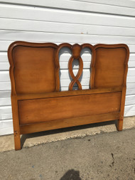 Full Size Maple French Provincial Headboard
