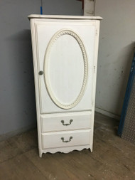 Small White Armoire