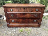Antique Eastlake 3 Drawer Dresser