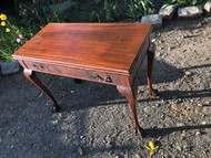 Antique Mahogany Ball and Claw Table