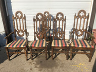 Set of 6 Tudor Arm Chairs