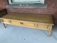 Vintage Thomasville 5ft Coffee Table