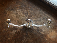3 Arm Chrome Wall Sconce