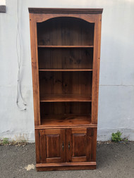 Solid Pine Bookcase - 2 Matching Available