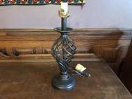 Modern Swirl Twist Table Lamp