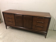 Mid Century Modern Walnut Buffet / Media Cabinet