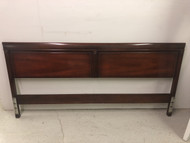 Traditional Mahogany King Size Headboard