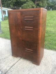 Antique Art Deco Chiffarobe Secretary Dresser