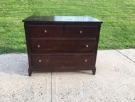 Solid Oak 4 Drawer Dresser