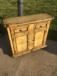 Handpainted Yellow Entry / Hall Table