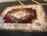 "11'6"" x 8'6"" Royal Palace Handmade Rug 100% Wool"