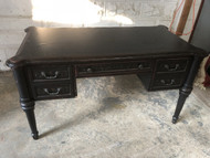 Black Handpainted Writing Desk