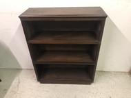 Walnut 3 Shelf Bookcase