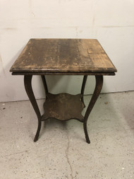 Antique Square Oak Table