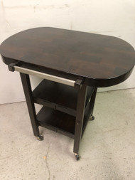 Collapsible Bar Cart / Kitchen Island