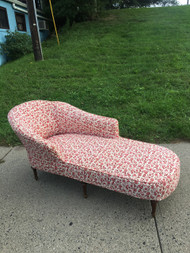 Victorian Chaise Lounge w/ Slip Cover