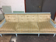 Vintage mid century modern 7.5ft Stripped Sofa