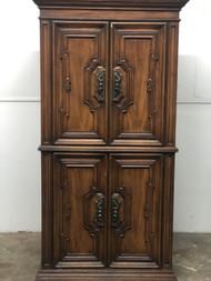 Vintage Tall Armoire Dresser