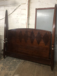 Ethan Allen Cherry 4 Post King Bed