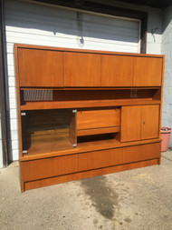 Danish Modern 8ft Teak Wall Unit by Musterring