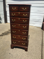 Solid Mahogany 7 Drawer Lingerie Chest