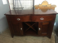 Cherry Buffet Wine Cabinet